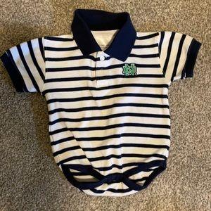 Notre Dame onesie, 6-12 months